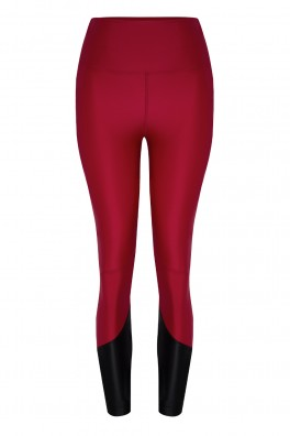 Lulu ECONYL® Claret Red Legging