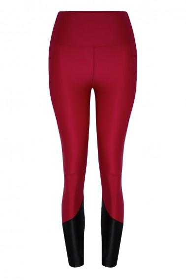 Lulu ECONYL® Claret Red Legging