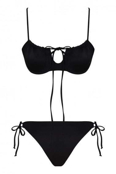 Tammy ECONYL® Black Bikini