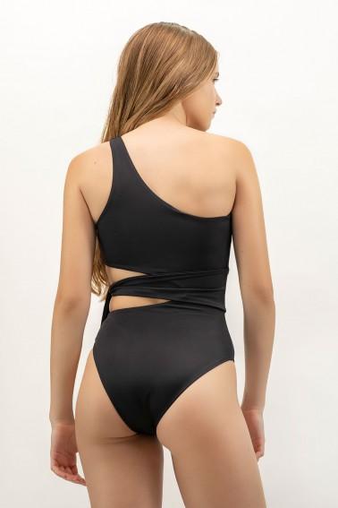 Naomi ECONYL® Black Swimsuit