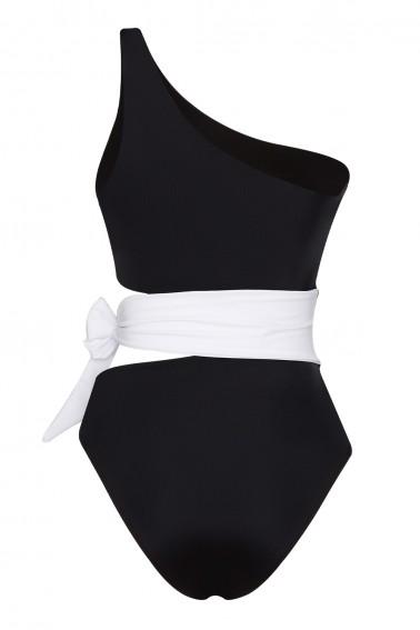 Naomi ECONYL® Black & White Swimsuit