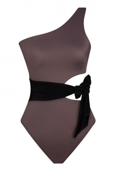 Naomi ECONYL® Grey Swimsuit
