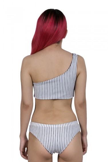Asia One Shoulder Bikini Üstü İki Taraflı
