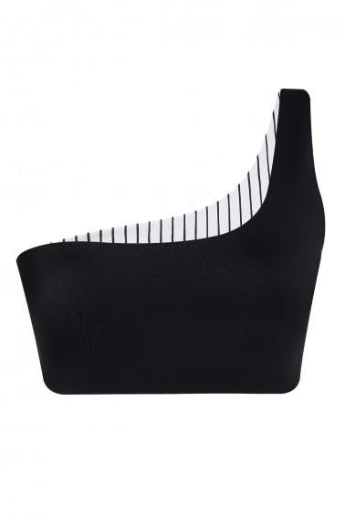 Asia One Shoulder ECONYL® Top Reversible