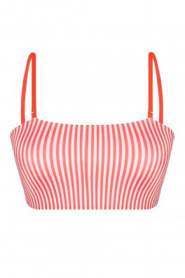 Poly Bandeau Clementina ECONYL® Top Reversible