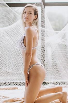 Thalia Ruffle Bikini Üstü